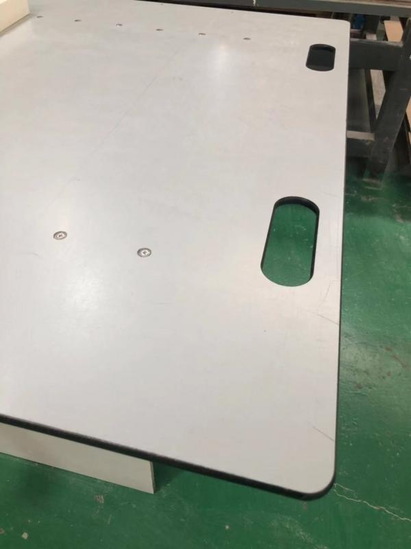 新医疗器械设备耗材 三聚氰胺玻璃纤维贴面板阻燃耐磨高强度
