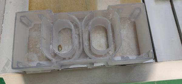 新品整流内模块绝缘壳医疗套件pc加30纤维增强防水优质工程塑料